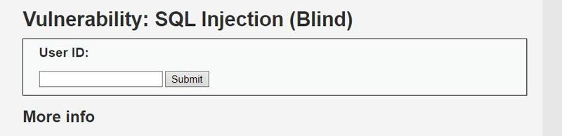 Blind SQL
